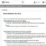 Oracle DB 18c(18.3)のオンプレミス版が提供開始。インストールしていく。